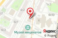 Схема проезда до компании Фосс Электрик в Москве
