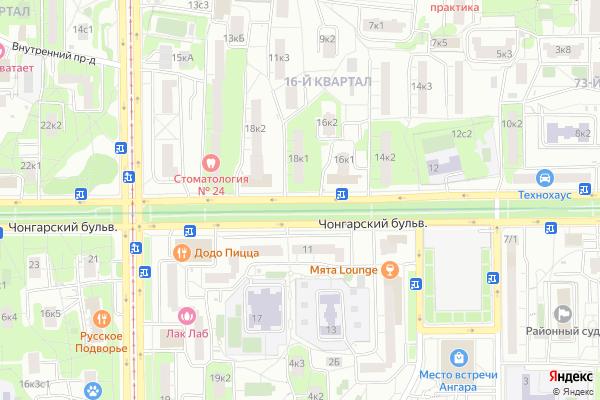 Ремонт телевизоров Чонгарский бульвар на яндекс карте