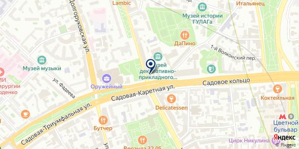 ТФ CATERPILLAR на карте Москве