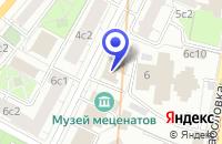 Схема проезда до компании КОММЕРЧЕСКИЙ БАНК МЕТРОПОЛЬ в Москве