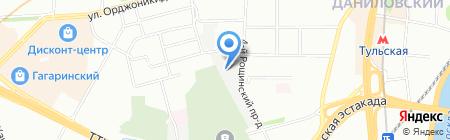 CRE 100 на карте Москвы