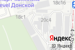 Схема проезда до компании CRE 100 в Москве