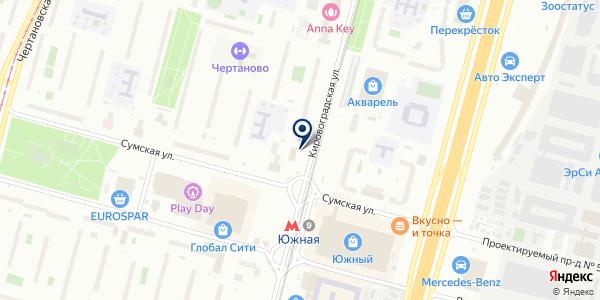 ПРОСТОЦВЕТЫ на карте Москве