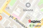 Схема проезда до компании Victory Lex в Москве