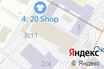 Схема проезда до компании Мира Групп в Москве
