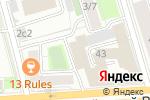 Схема проезда до компании Бутик Ирины Портман в Москве