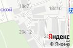 Схема проезда до компании НПК Шерна в Москве