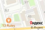 Схема проезда до компании МОСЭКОС в Москве