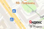 Схема проезда до компании Сауна на Тверской в Москве