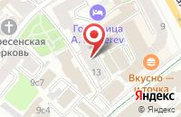 Схема проезда до компании Фидри в Москве