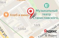 Схема проезда до компании Эс Эм Си в Москве
