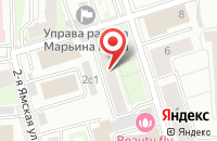Схема проезда до компании Современная Механика в Москве