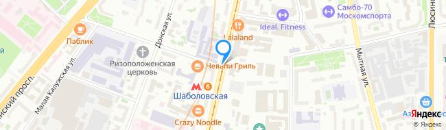 улица Шаболовка