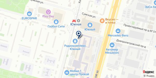 Техномонтаж на карте Москве
