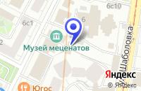 Схема проезда до компании ТФ МКС-ИНВЕСТ в Москве