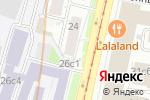 Схема проезда до компании Хозстрой в Москве