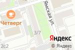 Схема проезда до компании Звездный Путь в Москве