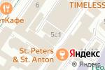 Схема проезда до компании Правительство города Москвы в Москве