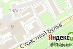 Схема проезда до компании Эзотерическая школа Савенкова В.Н. в Москве