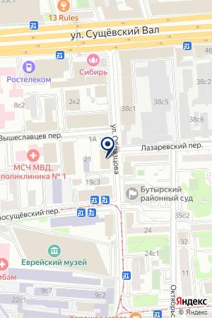 АВИАПАК на карте Москвы
