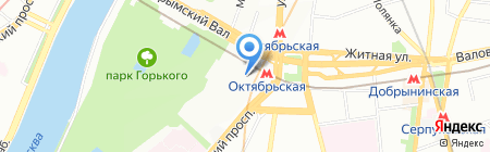 Avenir Executive на карте Москвы