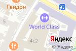 Схема проезда до компании Сбербанк КИБ в Москве