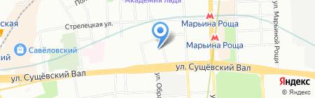 Современная механика на карте Москвы