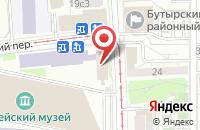 Схема проезда до компании Университетский Учебный Округ в Москве