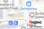Схема проезда до компании Глобал Медиа Груп в Москве
