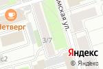 Схема проезда до компании Flemingo в Москве