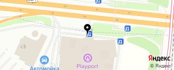 Лайн Профит на карте Москвы
