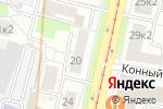 Схема проезда до компании Сервис-Площадь в Москве