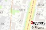 Схема проезда до компании Moon Lounge в Москве
