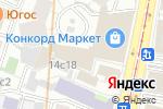 Схема проезда до компании Фреш-бар в Москве