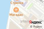 Схема проезда до компании Moscow points red october в Москве