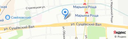 Школа Первой Помощи на карте Москвы