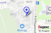 Схема проезда до компании ИНСТИТУТ ПРОЕКТИРОВАНИЯ СИСТЕМ УЧЕТА в Москве