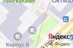 Схема проезда до компании Иннотек Медикал в Москве