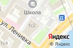 Схема проезда до компании КБ Альба альянс в Москве