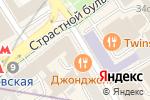 Схема проезда до компании ПК-Инвест в Москве