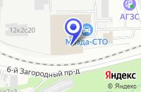 Схема проезда до компании ТРАНСПОРТНАЯ КОМПАНИЯ НАГОРЬЕ-2 в Москве