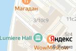 Схема проезда до компании Всероссийский центр изучения общественного мнения в Москве