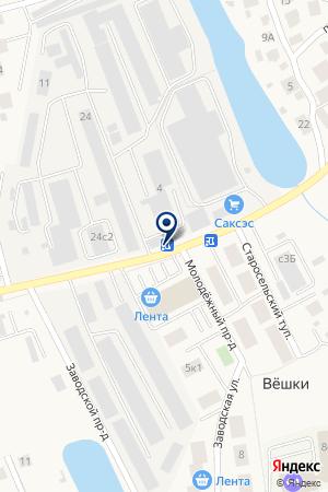 ТОРГОВО-СТРОИТЕЛЬНАЯ КОМПАНИЯ ЭЛИТНЫЙ ПАРКЕТ на карте Мытищ