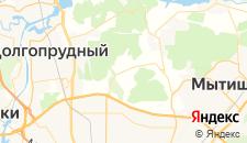 Гостиницы города Вешки на карте
