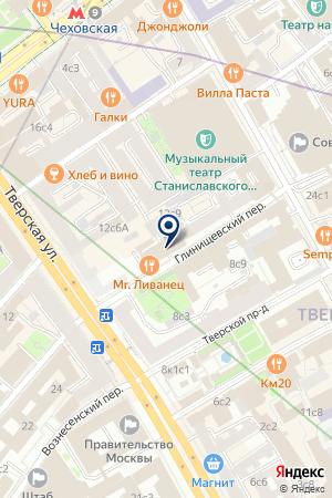 АЗИЯУНИВЕРСАЛБАНК на карте Москвы