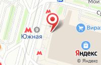 Схема проезда до компании Экспотехнолоджи в Москве