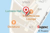 Схема проезда до компании Студия Исо в Москве