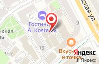Схема проезда до компании Группа Плюс в Москве