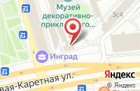 Схема проезда до компании Копирайт энд Продакшен в Москве