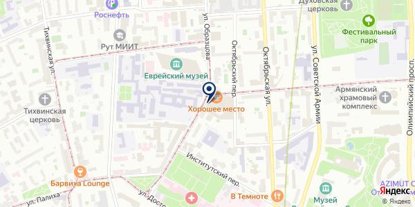 Регмастер на карте Москве